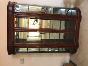 Imported Chinese Rosewood  display cabinet
