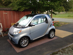 2008 Smart Fortwo Light blue Coupe (2 door)