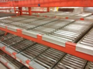 """Span track (rollers) for 42"""" pallet racking"""