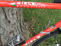 Miele Latina Road Issue 58cm Frame and Fork, some parts