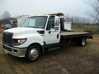 2012 INTERNATIONAL TERRA STAR DIESEL DECK TOW TRUCK