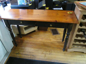 "Sofa Table Approx. 48"" X 16"" For Sale At Nearly New Port Hope"