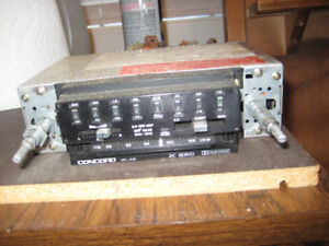 Concord Vintage Car Radio - Perfect for Getting Collector Plates