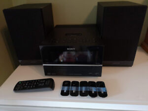 Sony Micro HI-FI Component System Model # CMT-BX20i