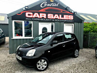 KIA PICANTO 1.1 LX 5DR HATCHBACK LOW MILEAGE AND LOW INSURANCE