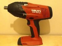 "HILTI SIW 22T-A CORDLESS 1/2"" IMPACT WRENCH"