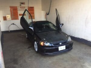 Two 2000 Honda Civic si  for sale
