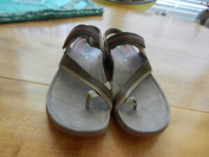 Merrell Albany Post Women's Leather Shoes Sandals Size 8