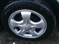 5 hyundai alloys and tyres