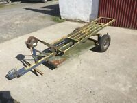 Towing Dolly Recovery Transporter Trailer