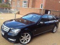 Mercedes-Benz C Class*AMG SPORT 175 BHP*2012*AUTOMATIC** 2.1 C220 CDI BlueEFFICIENCY 7G-Tronic Plus