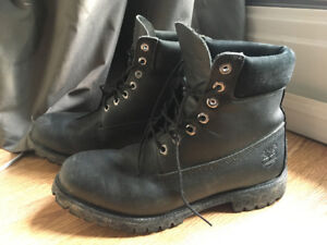 Timberland Black Leather Boots S11 (Waterproof)