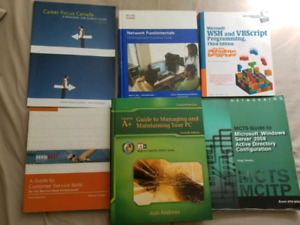CNA Computer systems and networking books