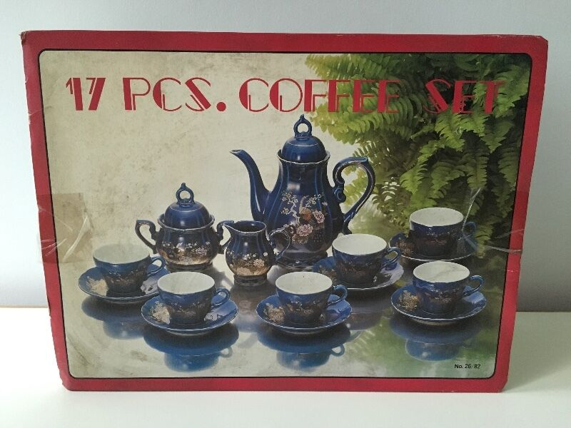 17 piece coffee set