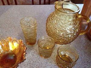 Vintage Amber set