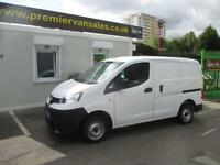 2013 13 NISSAN NV200 1.5 SE DCI 2013 YEAR 13 PLATE SE MODEL REV CAMARA TWIN SID