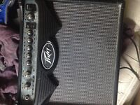 Yamaha pacifica and peavey  amp for sale