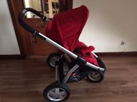 Maxi Cosi Mura 3 and Carry Cot