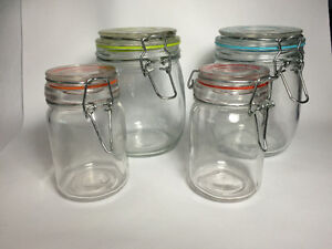 Various jars for craft use