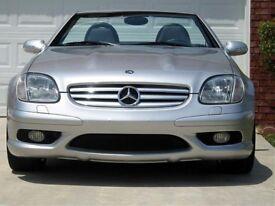 Mercedes SLk 170 parts