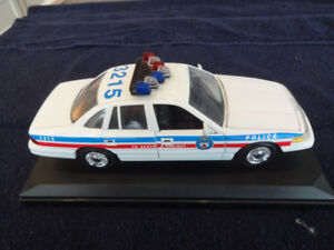 Late Model Die-Cast Metro Toronto Police Car for sale.