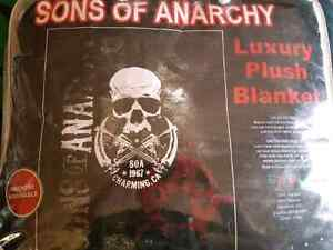 Sons of Anarchy luxury plush blanket - $60
