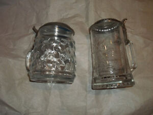 Ornate glass/metal beer steins(2) Stratford Kitchener Area image 2