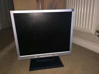 21 inch Benq monitor computer screen