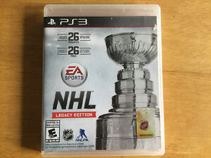 *Ps3 - NHL Legacy Edition - 25$