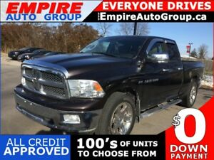 2011 RAM 1500 *BACK-UP CAMERA* BED LINER* BLUE TOOTH*LEATHER*NAV