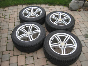 """18"""" Rims With Winter Tires For Sale"""