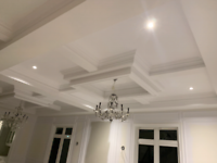 Led potlights installation by professional