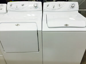 TOP LOAD WASHER + DRYER PAIR-1 YEAR WARRANTY
