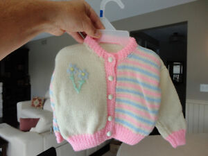 Brand New Baby Girl Knitted Top Kitchener / Waterloo Kitchener Area image 2