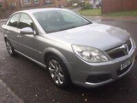 Vauxhall Vectra 1.9 cdti exclusive, 2008, (120 bhp), silver, mot until june 2017