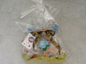 Baby shower bath/toy/book/feeding basket, ready to give gift!
