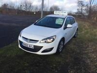 Vauxhall Astra cheap tax 1.3 diesel full history