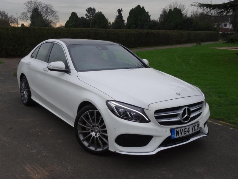 mercedes c class c220 cdi bluetec amg line premium plus 2014 64 in ilford london gumtree. Black Bedroom Furniture Sets. Home Design Ideas