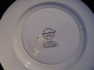 Wedgwood Peter Rabbit Plate London Ontario image 2