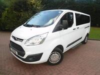 2014 Ford Tourneo Custom T300 2.2TDCi 125PS SWB LOW ROOF 9 SEAT MINIBUS WITH AIR