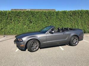 2011 Mustang GT Convertible LOW **7900 KM** RARE 6 Speed