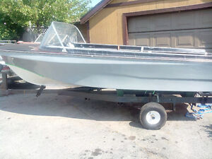 16ft Boat and Trailer,no motor.