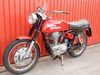 Royal Enfield Continental GT 1966 250cc 5 speed in RED LOW MILEAGE