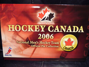 3 HOCKEY CANADA 2006 COLLECTOR PINS EMPTY FOLDERS West Island Greater Montréal image 2