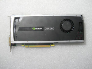 NVIDIA Quadro 4000 PCI-E workstation graphics card with 2GB GDDR