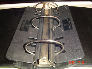 "SEVERAL 4"" BLACK THREE-RING, RUGGED, HEAVY DUTY BINDERS Windsor Region Ontario image 2"