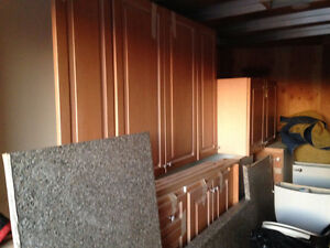 Kitchen Cabinets, Counter Top & Sink included! Kingston Kingston Area image 1
