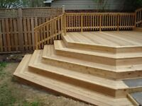 Quality deck and fence-Call Landscape One