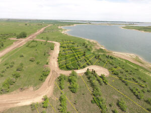 Lakefront Lots for Sale, Lake Diefenbaker, 1 Hr South Saskatoon