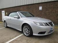 2009 (09) SAAB 9-3 DIESEL CONVERTIBLE SAT NAV FULL LEATHER FULL HISTORY